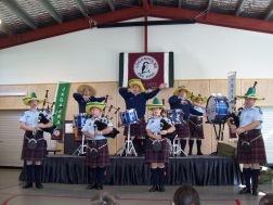 Police Pipes and Drums Performance